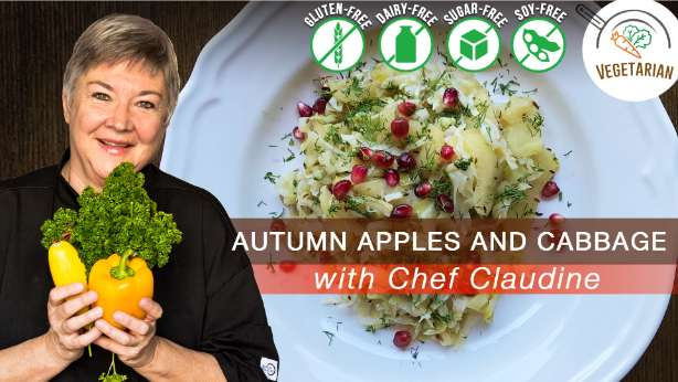 autumn apples and cabbage